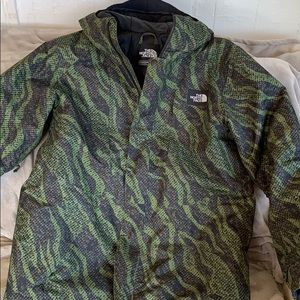The North Face snowboarding jacket size Large